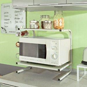 Sobuy forno a microonde mensole pratico e robusto - Forno a microonde piccolissimo ...
